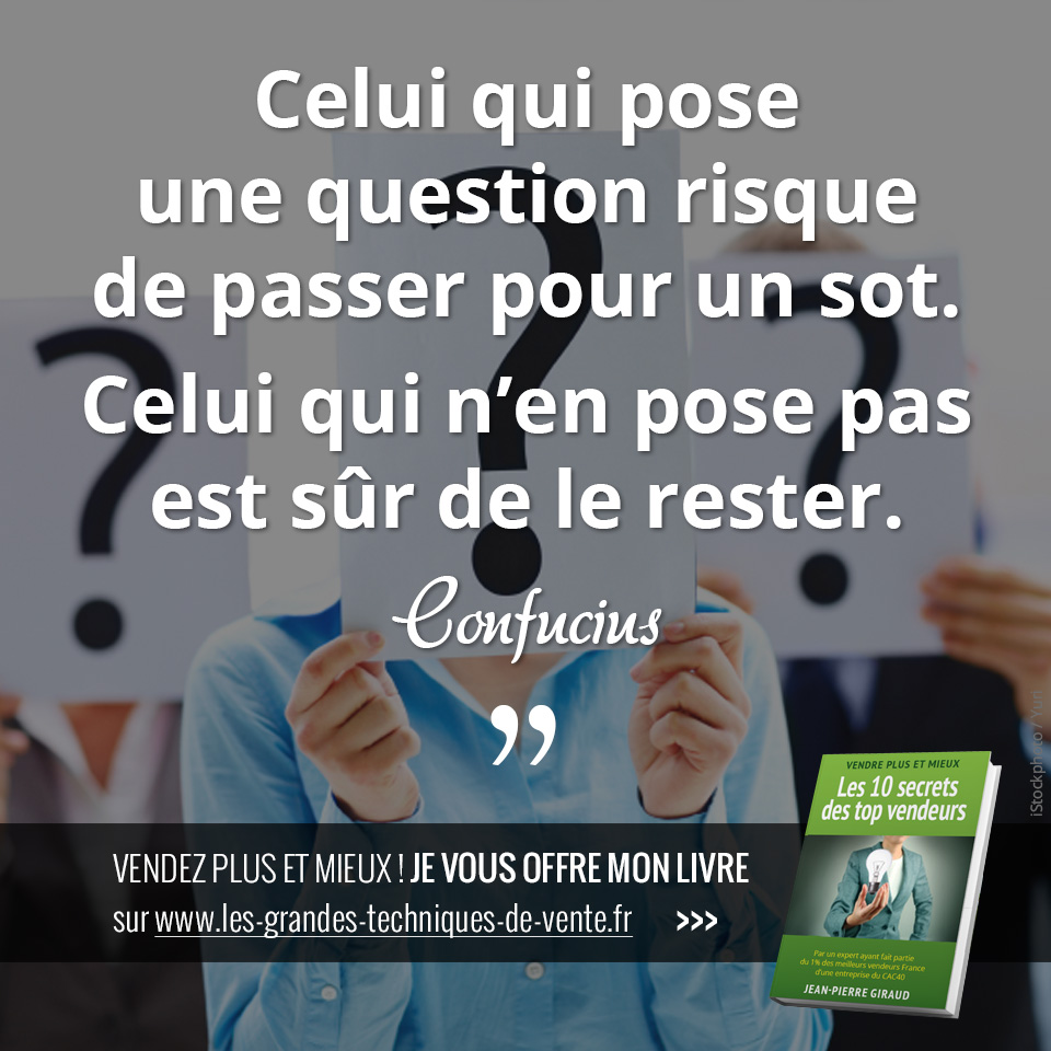 citation vente commercial