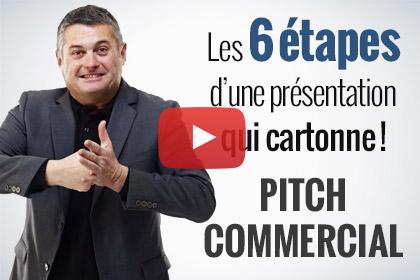 pitch commercial presentation entreprise