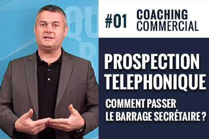 prospection telephonique comment passer barrage secretaire