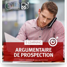 Elearning commercial Argumentaire prospection