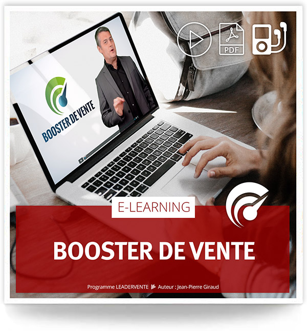 Elearning commercial Booster de vente