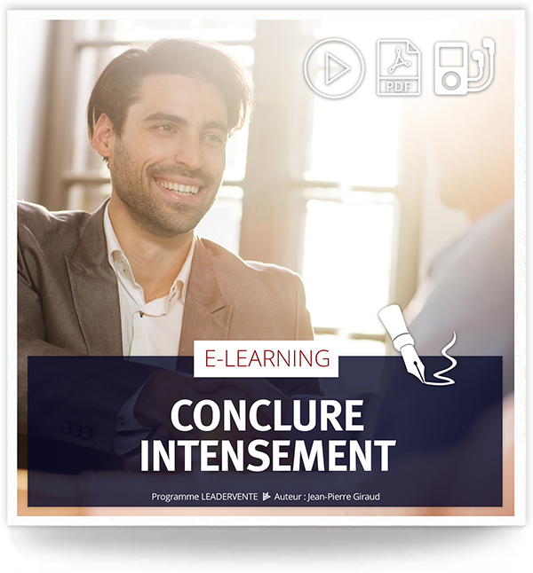 Elearning commercial Conclure intensement