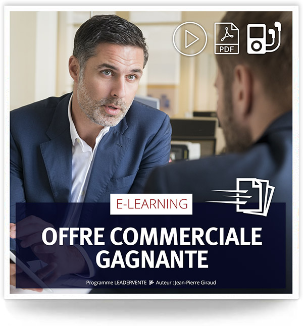 Elearning commercial Offre commerciale gagnante