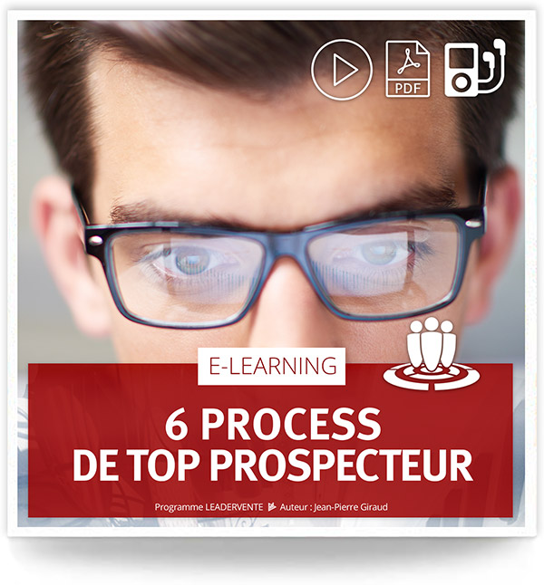 Elearning commercial process top prospecteur