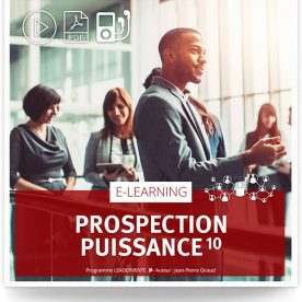 Elearning commercial prospection puissance 10